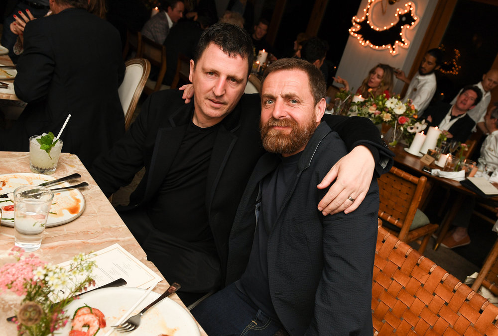 Atticus Ross and Black Cow founder, Paul 'Archie' Archard