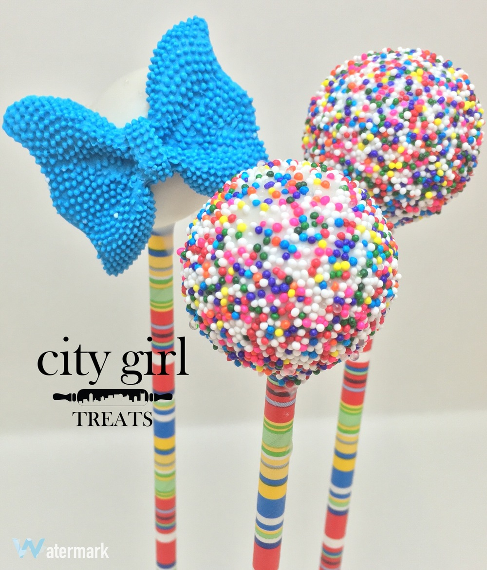 Funafuti cake pops by Nashville based bakery City Girl Treats Nashville Cakepops