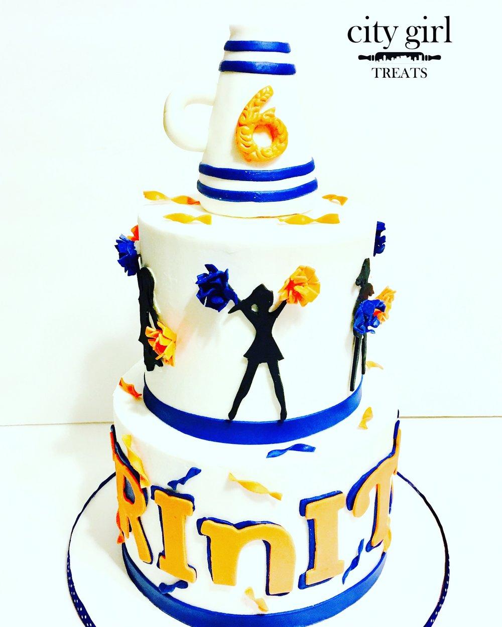 Cheer Cake Nashville TN City Girl Treats