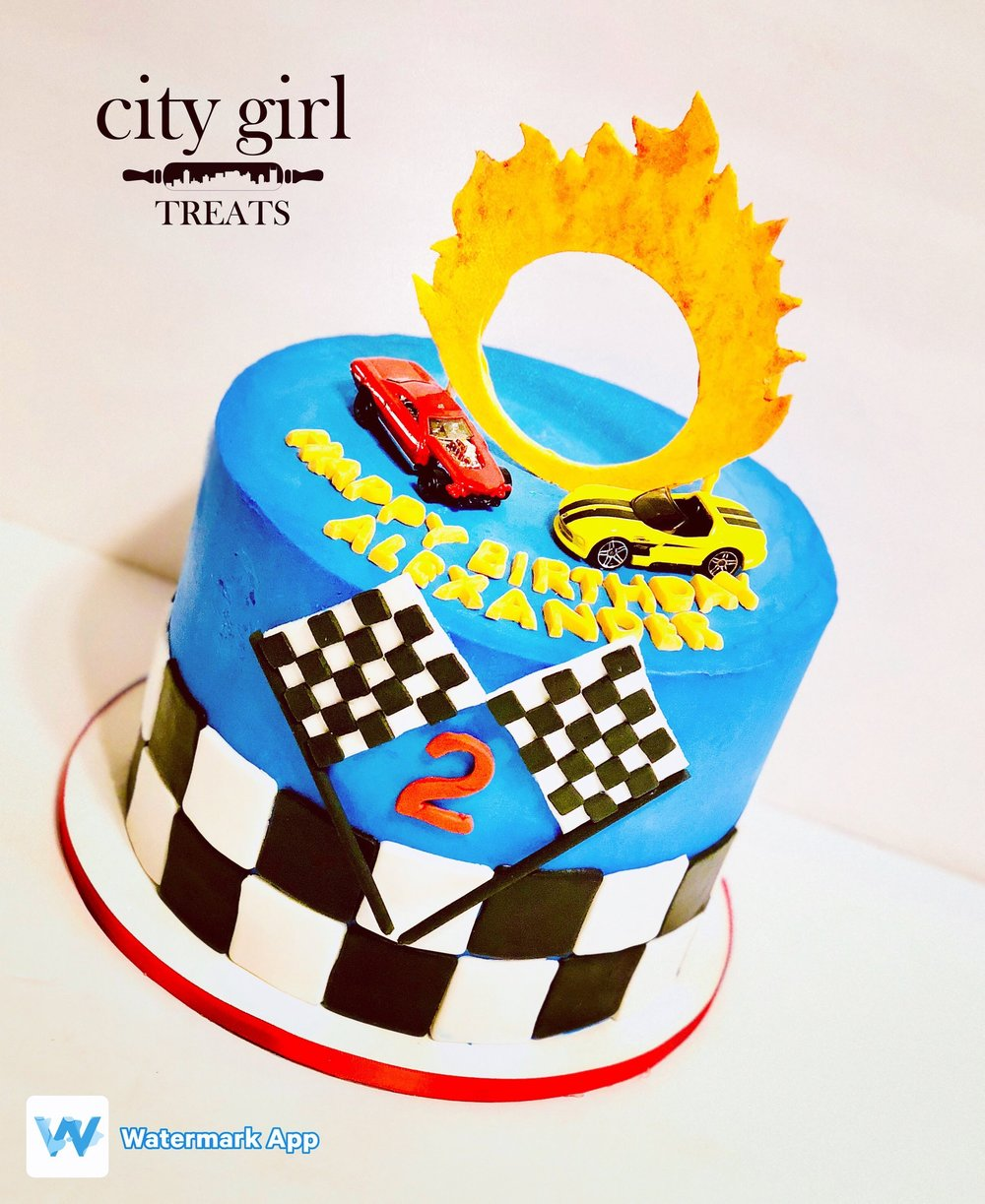 Designer Cakes Nashville TN Based Bakery, City Girl Treats Nashville Children Party Cakes Hot Wheels Cake