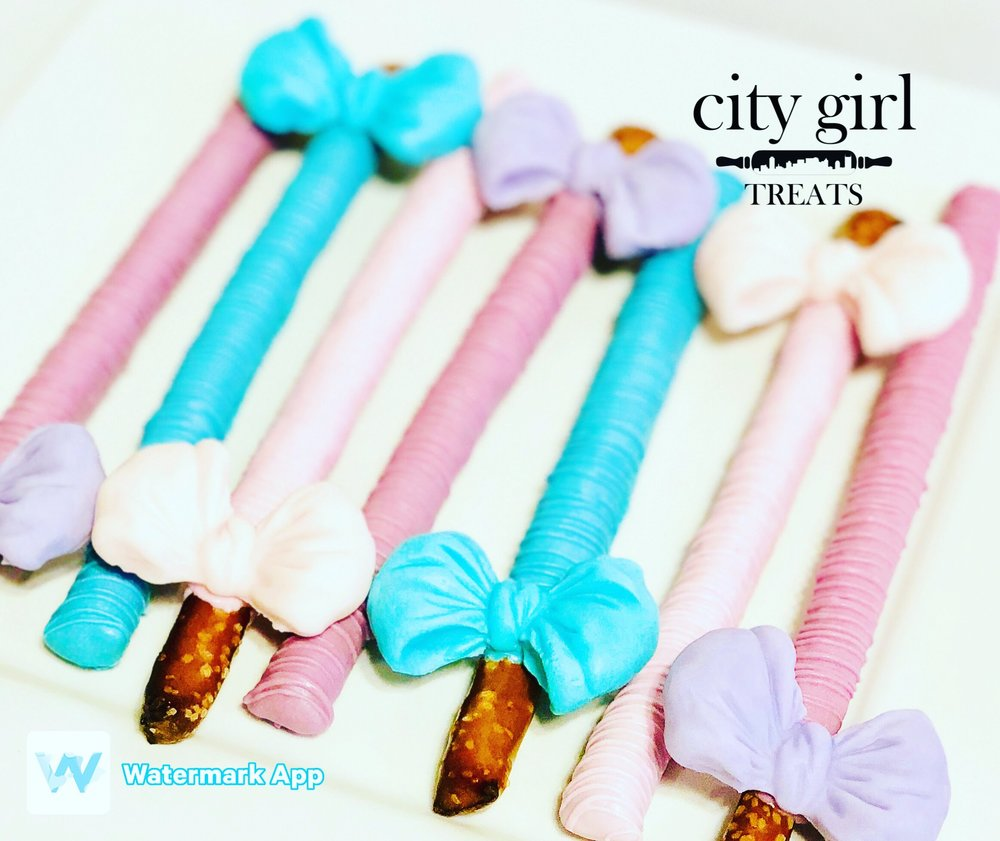 Pretzel rods by Nashville, TN based bakery City Girl Treats Nashville Treats