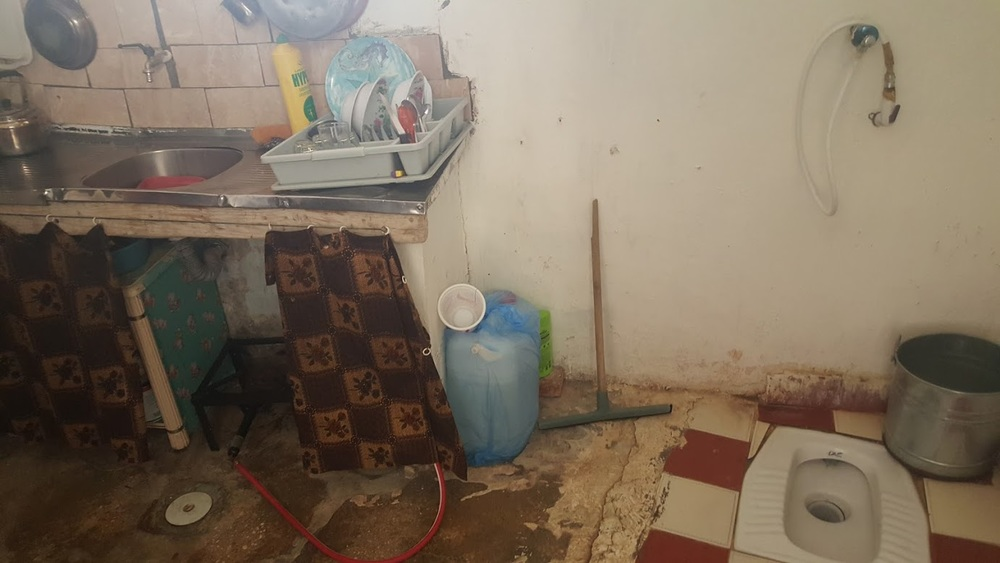 An urban refugee's home in Amman, Jordan.