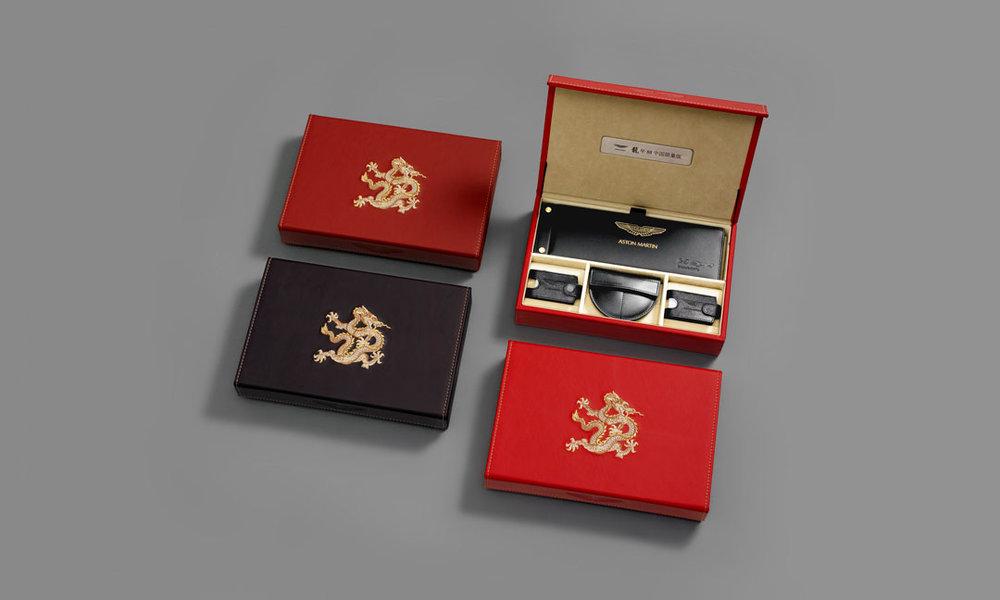 Aston Martin Leather Box