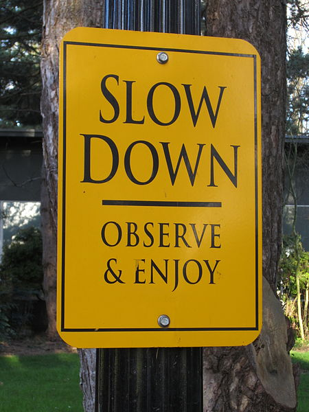 Slow-down-for-stress