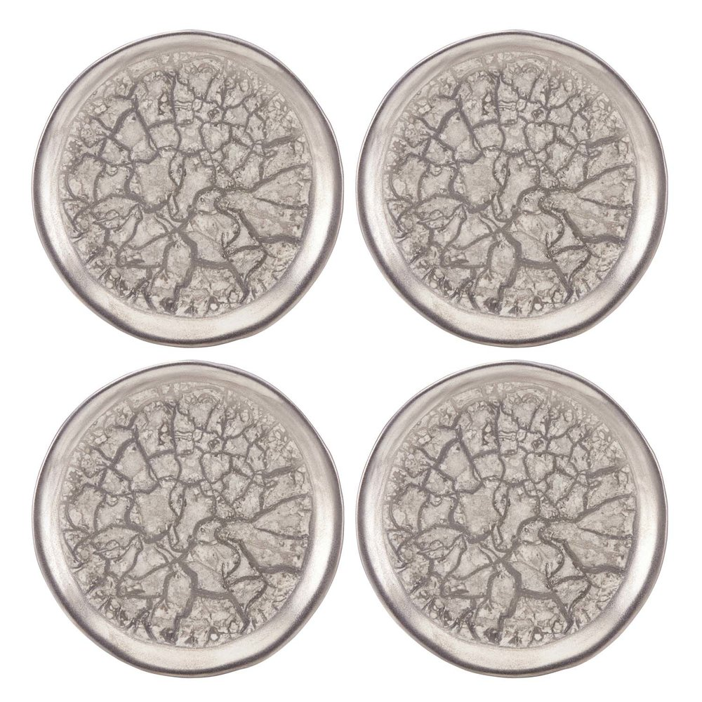 Tempio Luna platinum canape plates set of 4  sc 1 st  Michael Wainwright & Tempio Luna platinum canape plates set of 4 u2014 Michael Wainwright USA