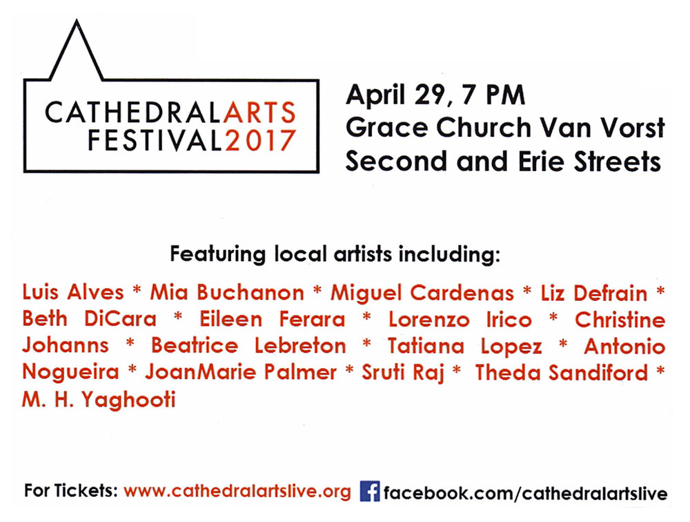 Cathedral Arts Festival Jersey City NJ - Group Exhibit 4/2017