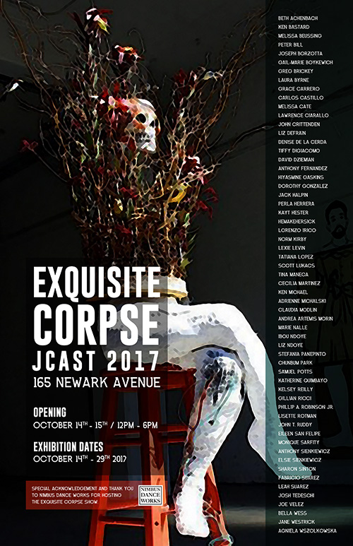 Exquisite Corpse - Group Exhibit 10/2017  Nimbus 163 Newark ave. Jersey City NJ