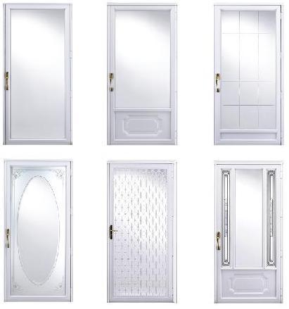 stormdoor styles