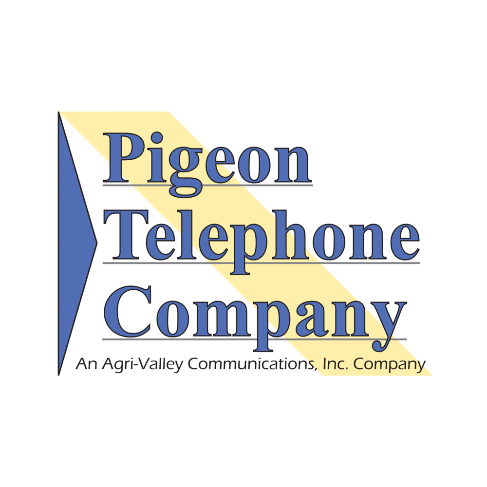 Pigeon Telephone Logo Circle
