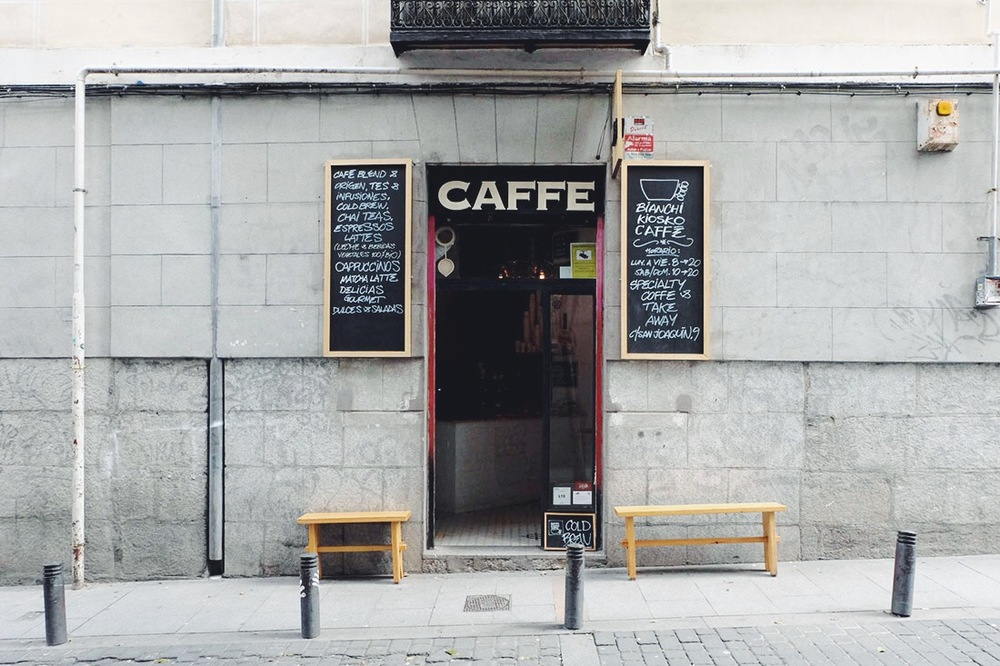 Bianchi Kiosko Caffè / lacrememagazine.com