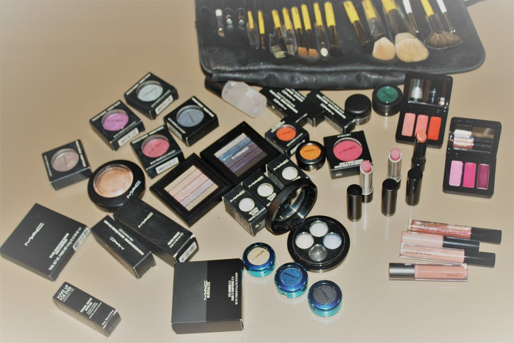 Mac products - Eyes, lips, face