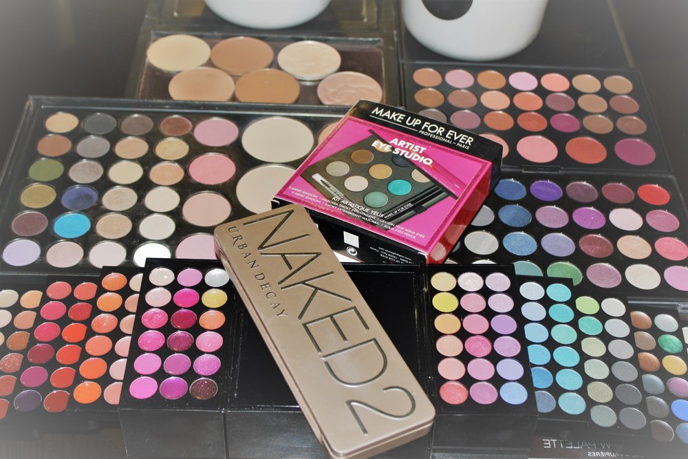 Make up for ever,   Urban Decay,   Clinique