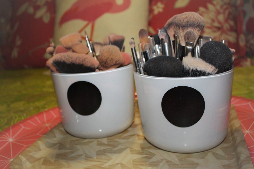 My brushes -   Professional sets for contouring, face sculpting, and   strobing