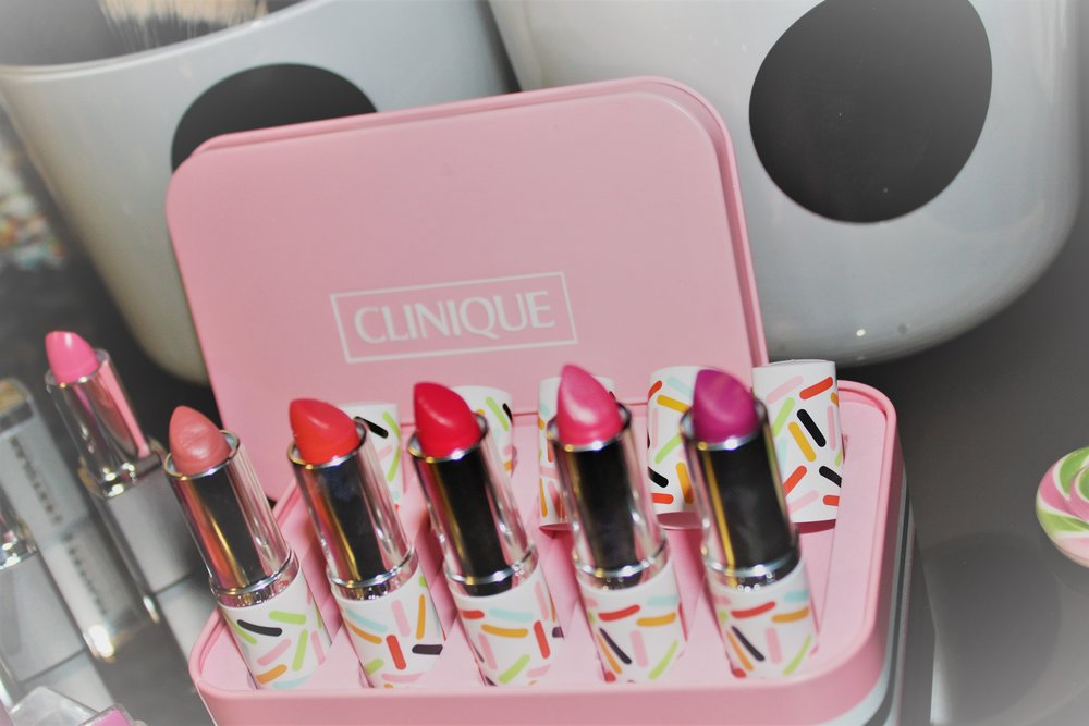 Special edition Clinique lipsticks