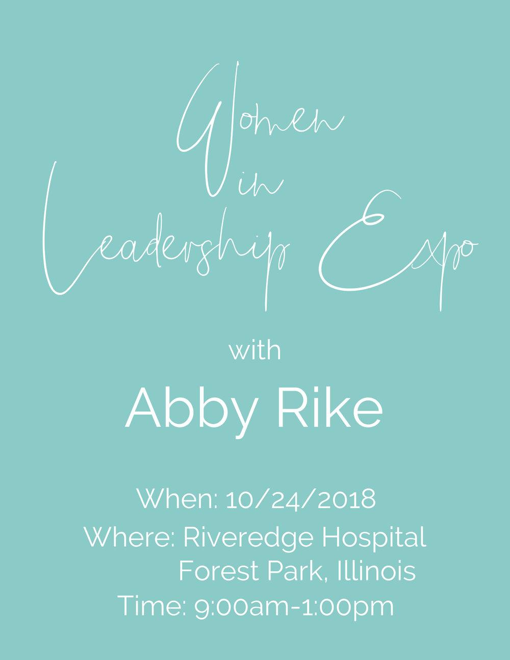 Abby Rike | Public Speaker | Inspirational Speaker