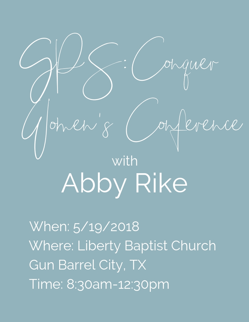 Abby Rike | Christian women's speaker | Motivational Speaker