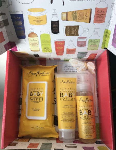 Products from our Baby Ambassadors Box!!!  Description is in the blog. #everybodygetslove #sheamom #sheadad #sheamoisture #sheafam #sheambassador #SheaTriplets