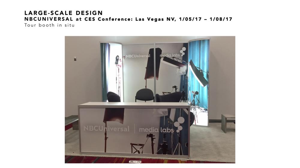 ART DIRECTION AND DESIGN CES Conference Las Vegas NV Kate Brandt