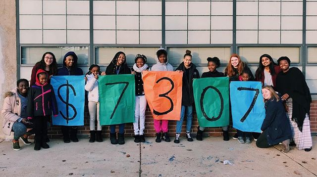 Thank you so much to every single person who generously donated this past week! Because of your support, we were able to raise $7307 for City Faces programming!! Thanks for helping us exceed our goal!