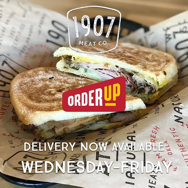 Can't make it @downtownstillwaterok for lunch? No worries. Get lunch delivered with @orderupstilly.  #okstate #stillwater #eatlocal