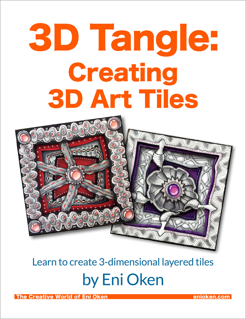 Learn how to create fun 3-dimensional art tiles • enioken.com