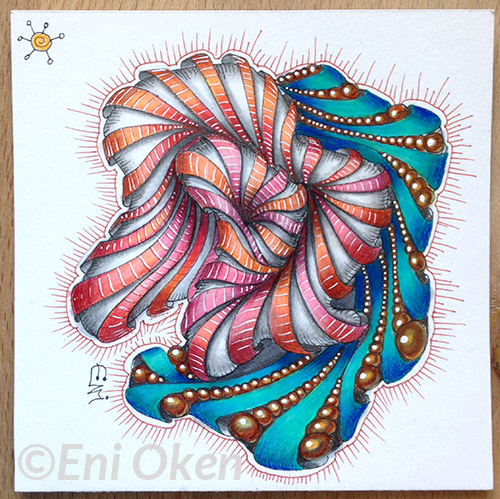 Shading Aquafleur Progression by Eni Oken | enioken.com