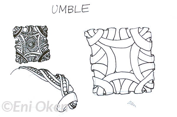 Sketching Studies on Umble and Zentwinning, by Eni Oken - enioken.com