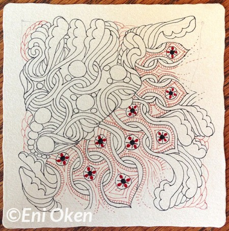 Learn to shade Zentangle® with Eni Oken • enioken.com