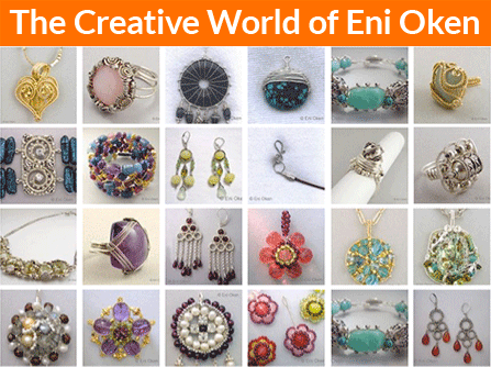 Learn how to create fantastic wire wrapping jewelry • enioken.com