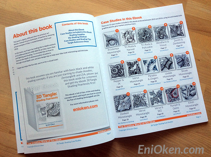 Learn how to shade Zentangle • enioken.com