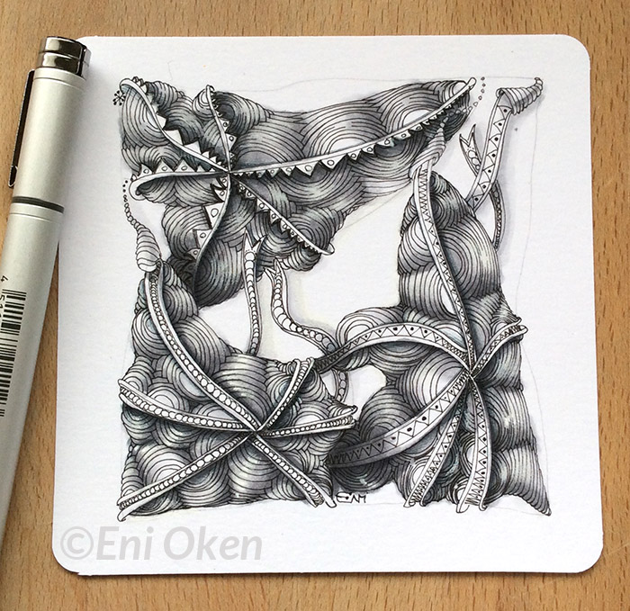 Ixorus monotangle • Learn shading at enioken.com