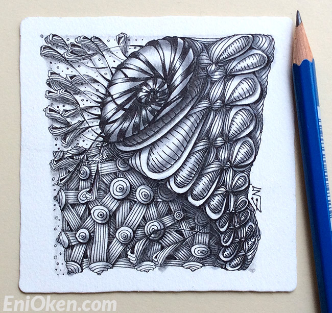 Create cool Zentangle® • enioken.com