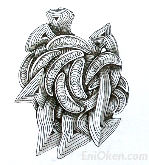 Create amazing Zentangle® • enioken.com