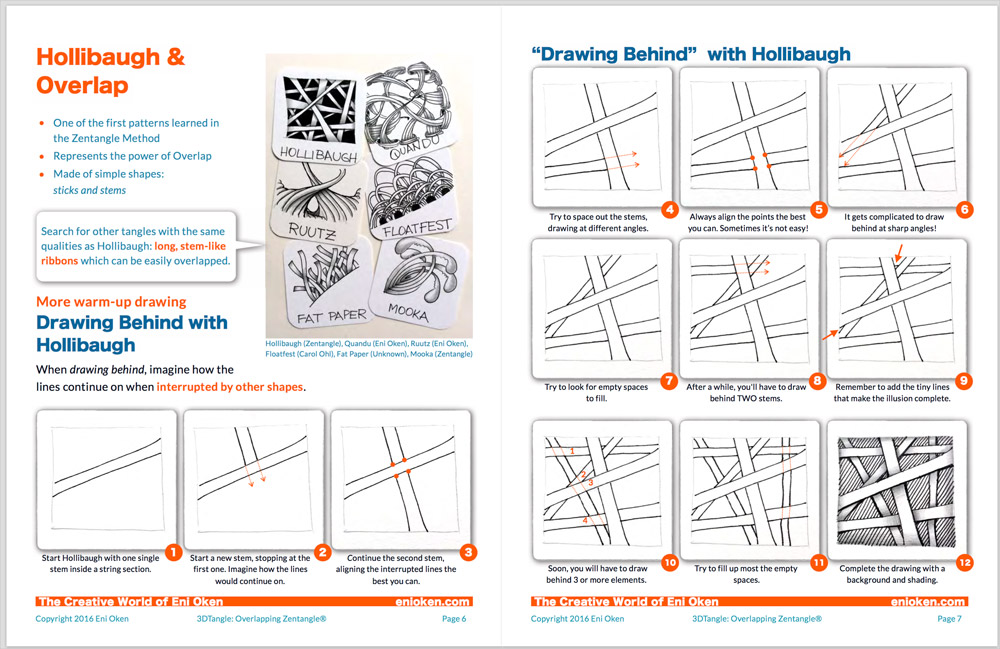 3dtangle overlapping zentangle enioken in this ebook you will find practical exercises starting with the basics fandeluxe Image collections