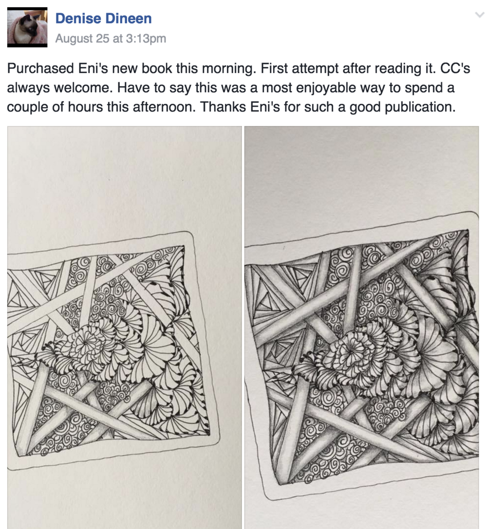 3dtangle overlapping zentangle enioken and look at this awesome student work fandeluxe Image collections