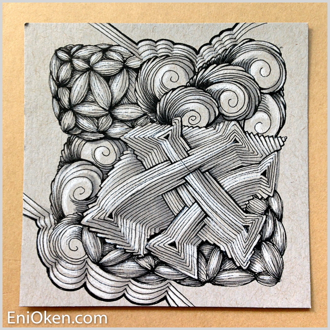 Learn to create awesome Zentangle® * enioken.com