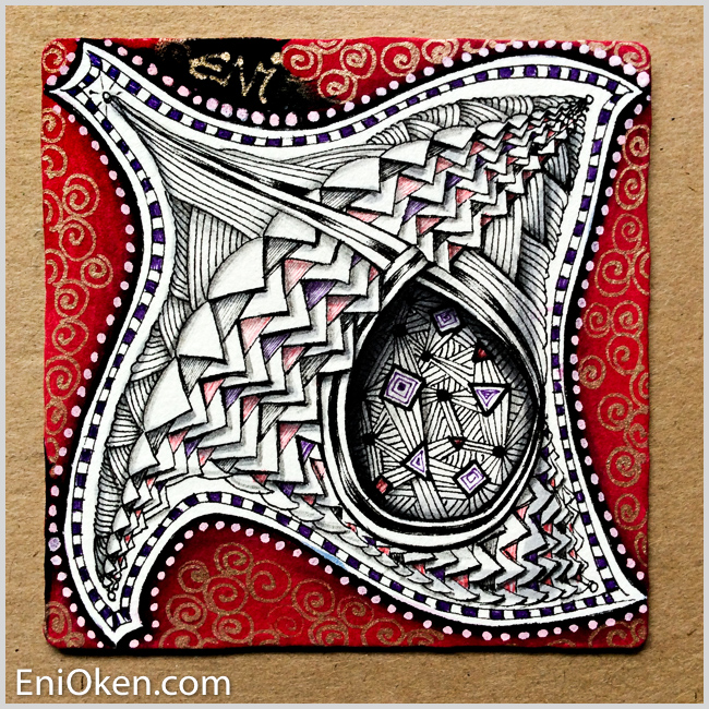 Learn to create amazing Zentangle® • enioken.com
