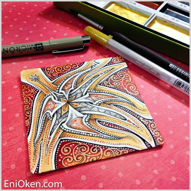 Learn to create amazing Zentangle® Art • enioken.com