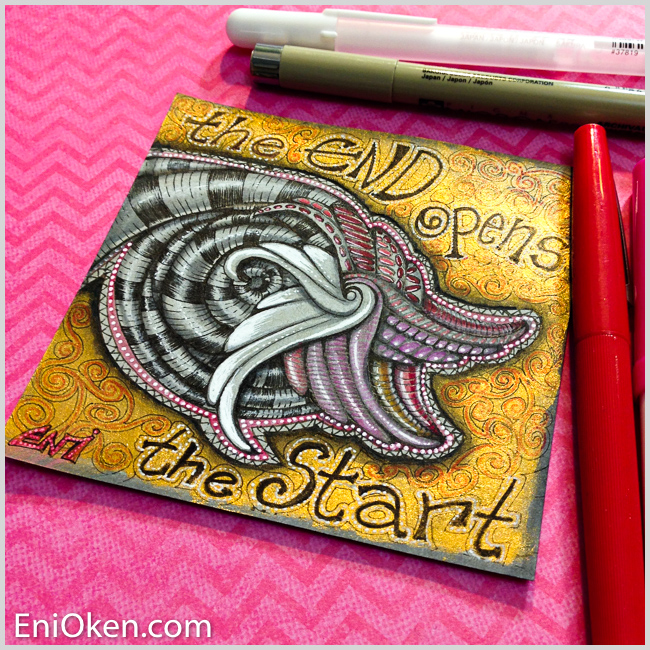 Learn how to create amazing Zentangle® • enioken.com