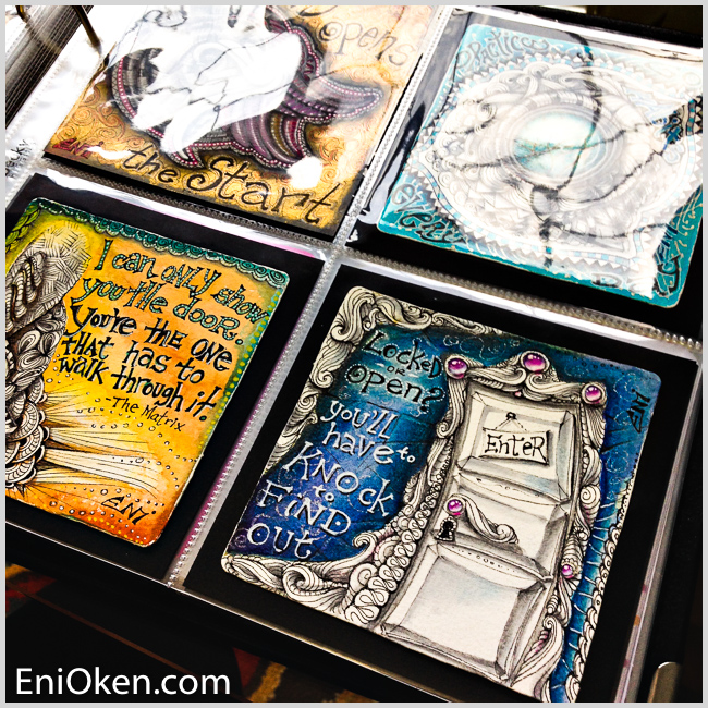 Learn how to create amazing art with Eni Oken's ebooks • enioken.com