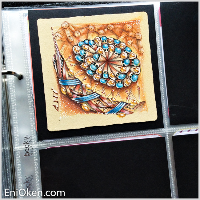 Learn how to create amazing Zentangle® and Zendoodles • enioken.com