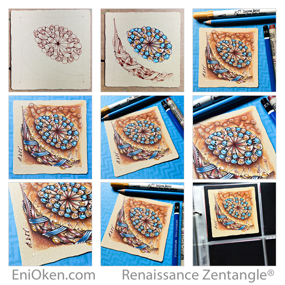Learn how to create amazing Zentangle® and Zendoodles • enioken.com
