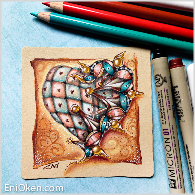 Learn how to draw Zentangle® • enioken.com