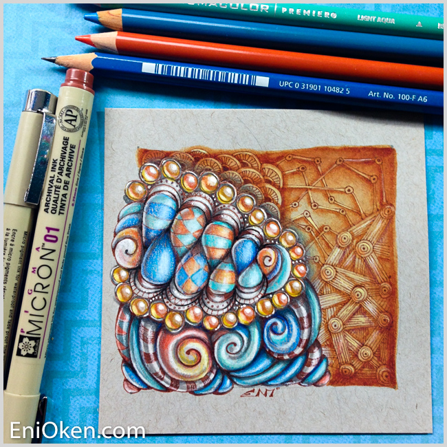 Learn to draw amazing Zentangle® • enioken.com