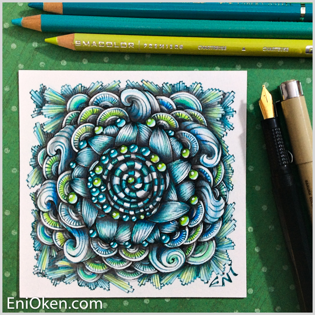 Learn how to make amazing Zentangle® art • enioken.com