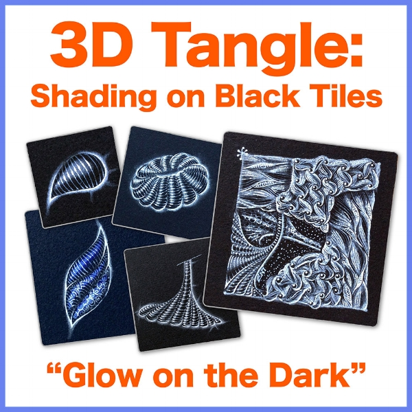 To learn more about my unique method of shading over black tiles, get this ebook! • enioken.com