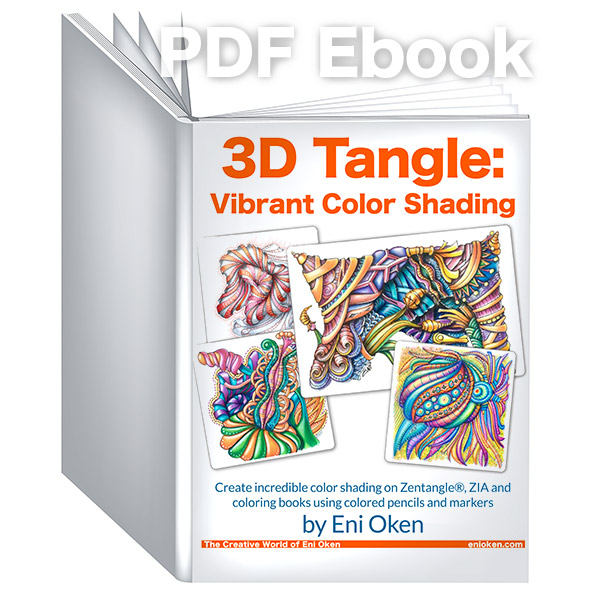 Learn how to shade in vibrant colors! * enioken.com