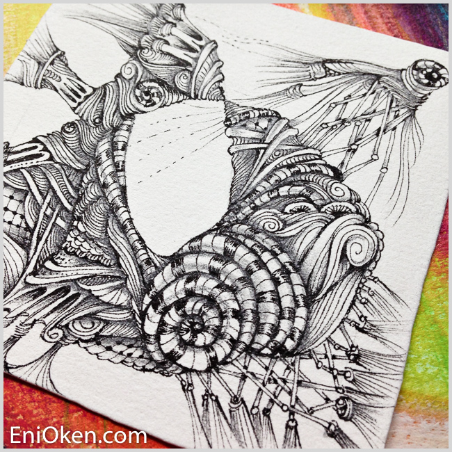 Learn meditative art at enioken.com