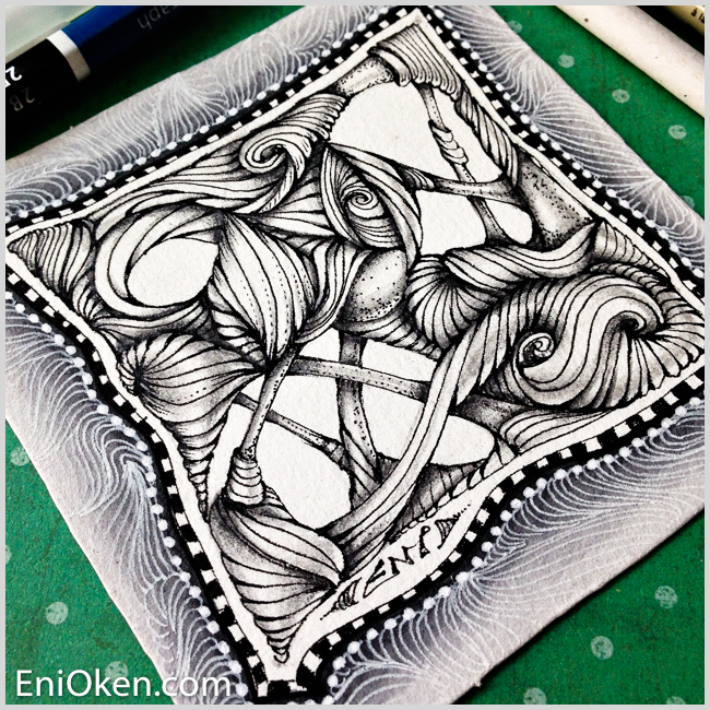 Learned a new type of meditative art– enioken.com