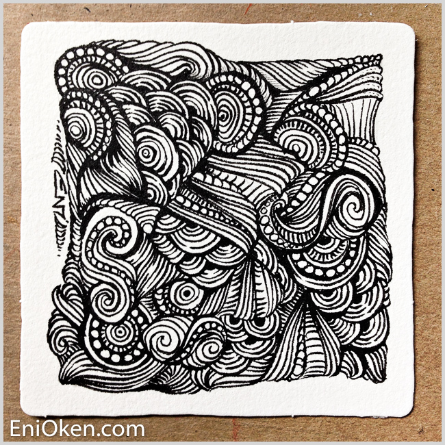 Learn a new type of meditative are drawing at enioken.com